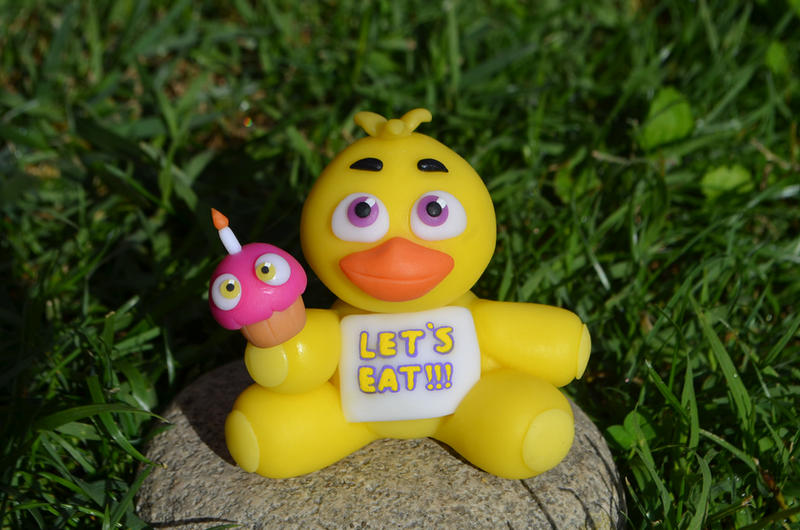 Chica plush version check the video tutorial by craftdragons on