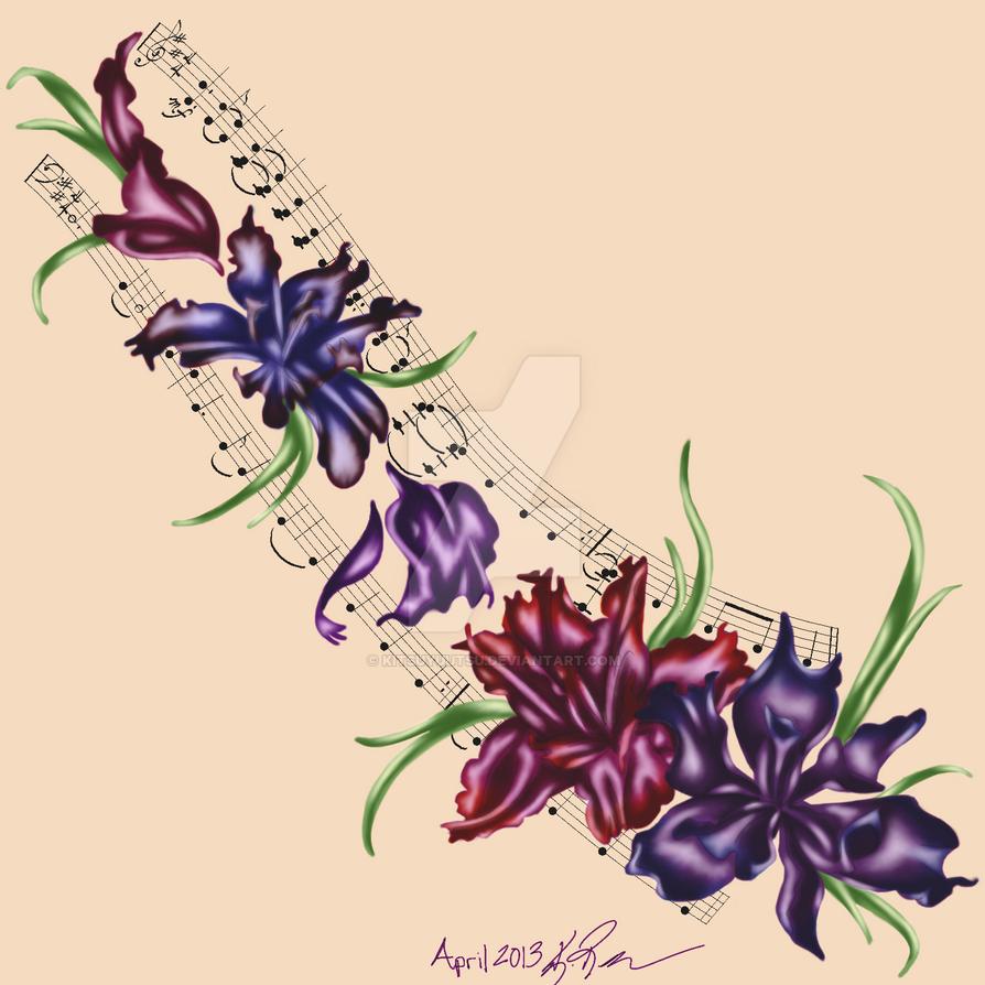 Iris tattoo by kitsuyuutsu on deviantart iris tattoo by kitsuyuutsu izmirmasajfo