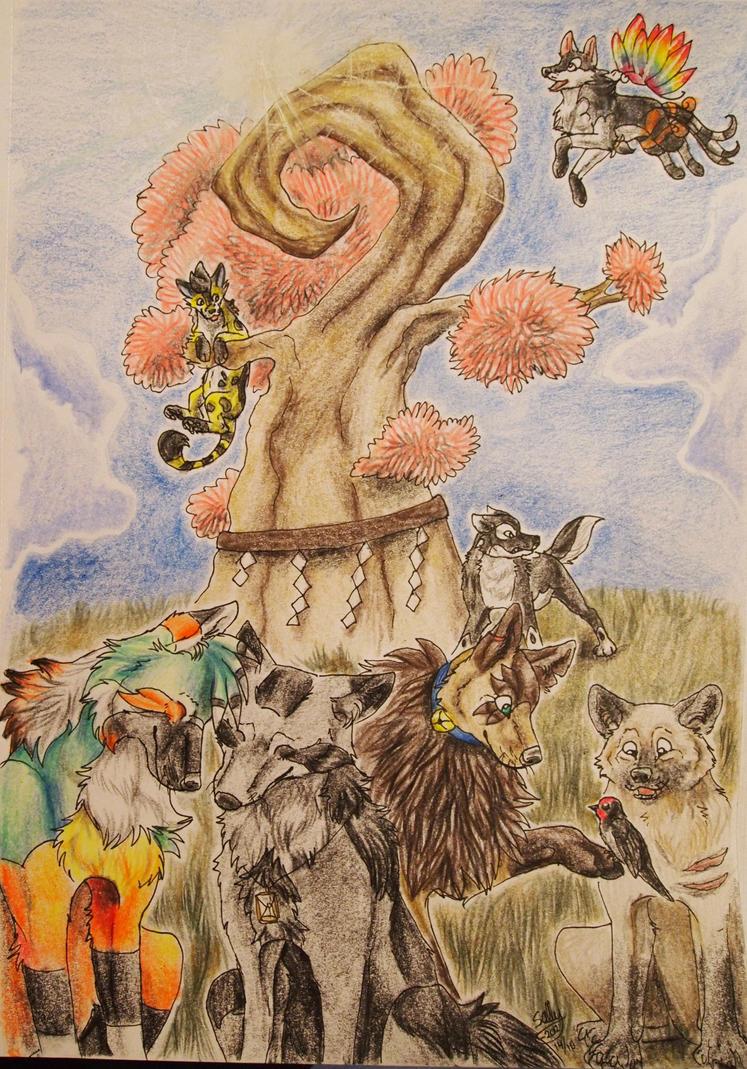 On Konohana island by Sally-Ce