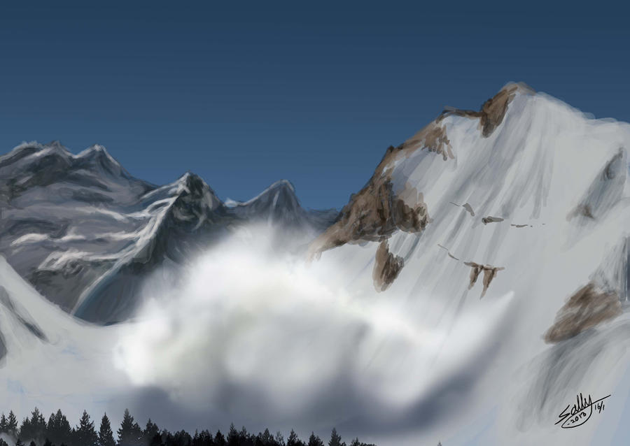 Avalanche by Sally-Ce