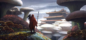 Fantasy environment concept by Flip-Fox