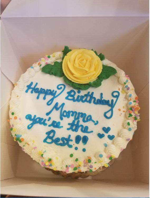 My Moms Birthday Cake by TymanTy914 on DeviantArt