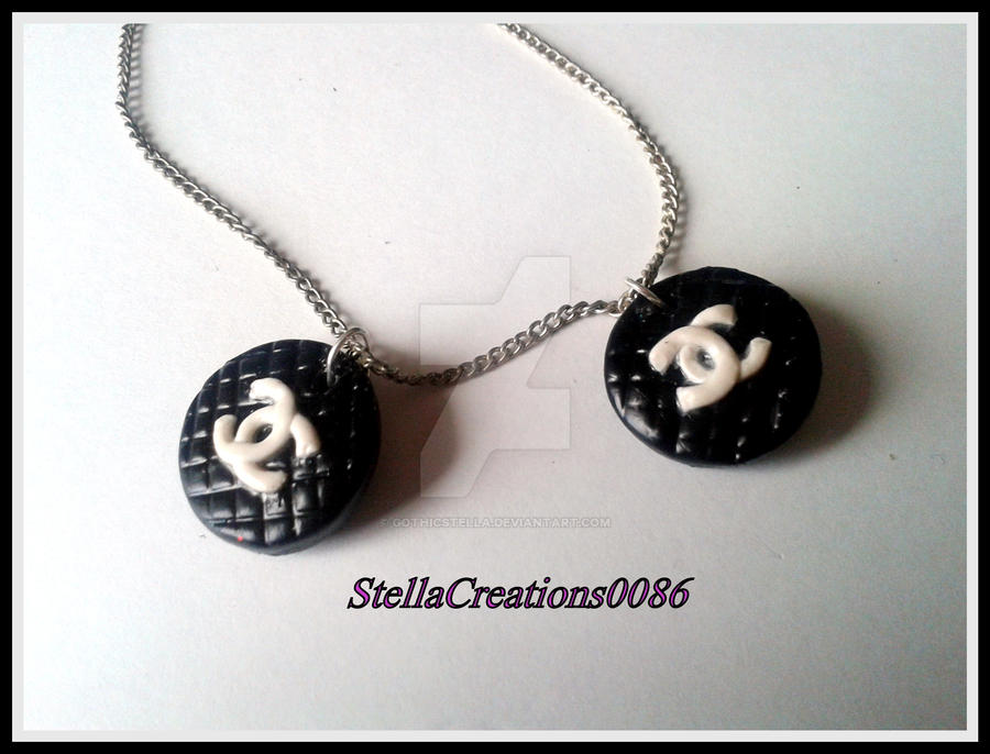 Polymer clay chanel pendants by gothicstella on deviantart polymer clay chanel pendants by gothicstella aloadofball Choice Image