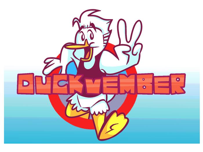 Duckvember 2 Logo by DarkwingSnark