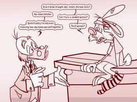 DUCKVEMBER: Doctor Duck by DarkwingSnark