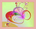 Bubbly Fractal Print