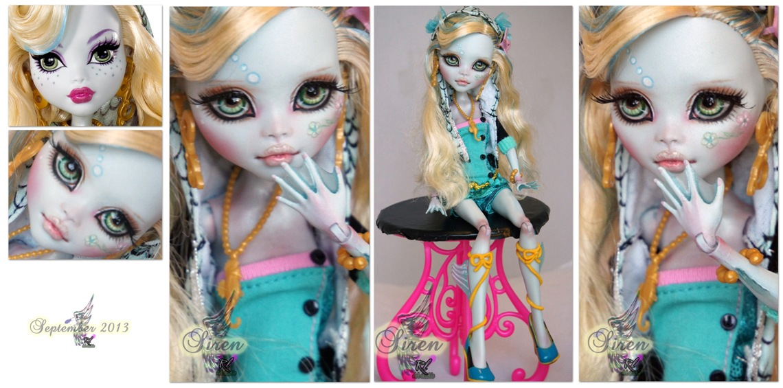 MH Lagoona repaint #8 ~Siren~ * by RogueLively