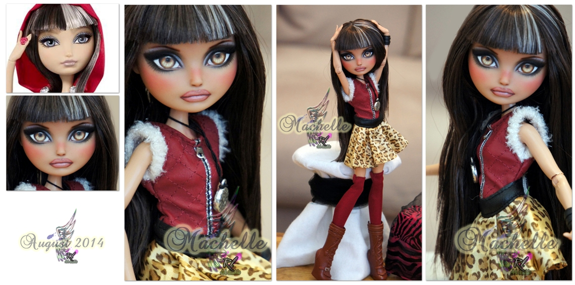 EH Cerise Hood repaint #1 ~Machelle~ by RogueLively