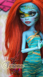 ~Serena~ Monster High Fresh Water Lagoona by RogueLively