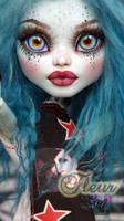 ~Fleur~ Monster High 17inch Frankie Stein repaint