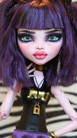 ~Rooney~ 17inch Monster High Elissabat repaint by RogueLively