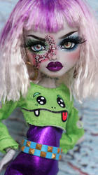 ~Sia~ Monster High Frankie Stein OOAK repaint