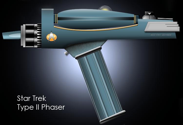 Star Trek Type II Phaser by SkipAtC