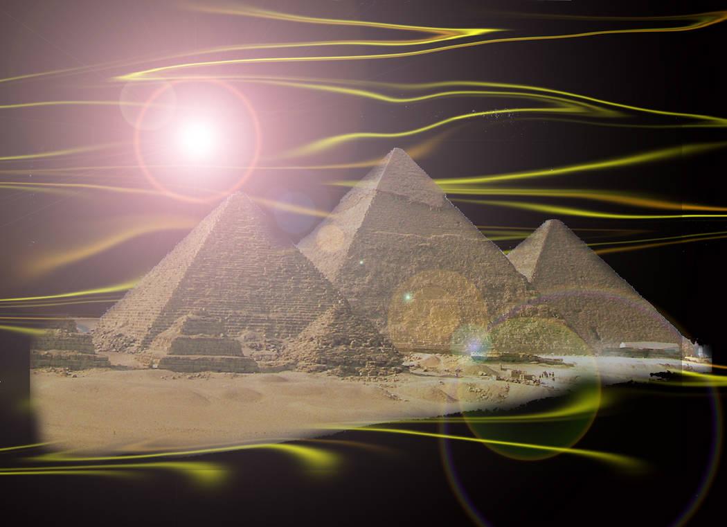 Enchanted Pyramids by EnchantedMistress
