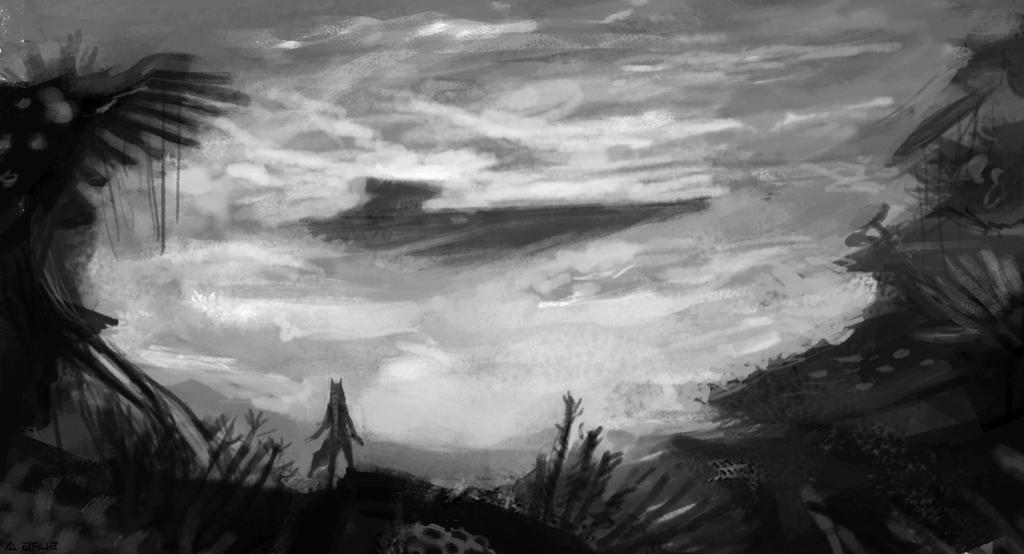 Sketch 3 by polkovniknabelomkone