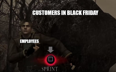 Black Friday in a nutshell