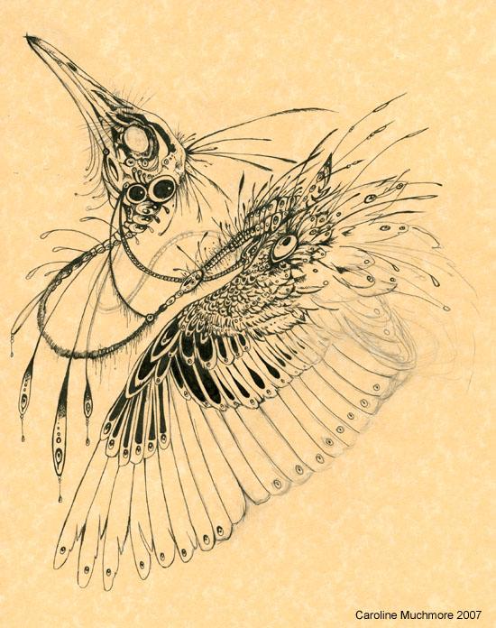 Biomechanical Bird by autumn-rains
