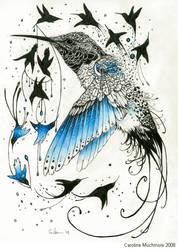 The Birth of Hummingbirds by autumn-rains