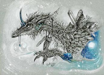 Untitled dragon by autumn-rains