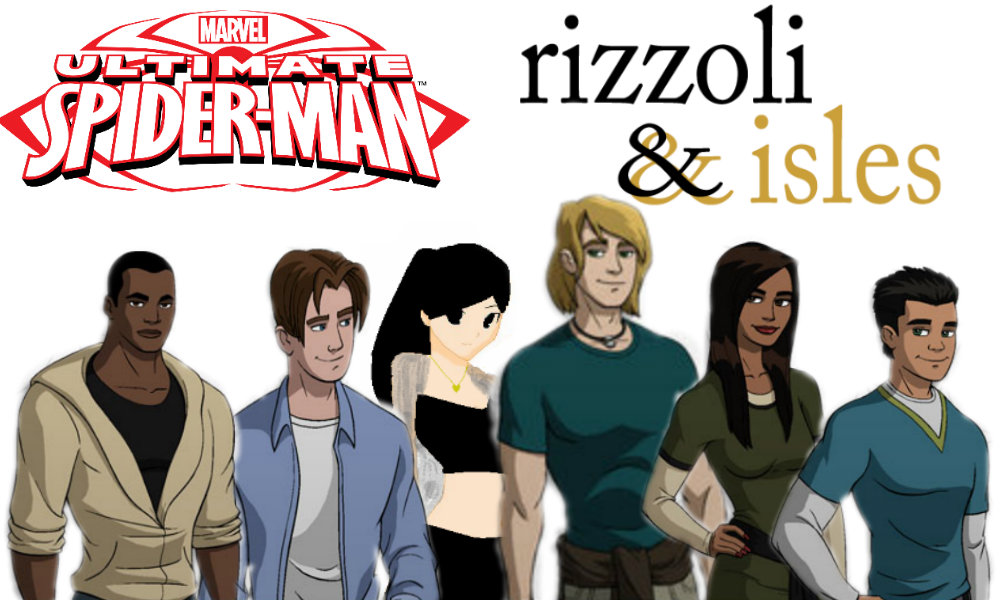 Ultimate SpiderMan:Rizzoli and Isles by LataraHanu on DeviantArt