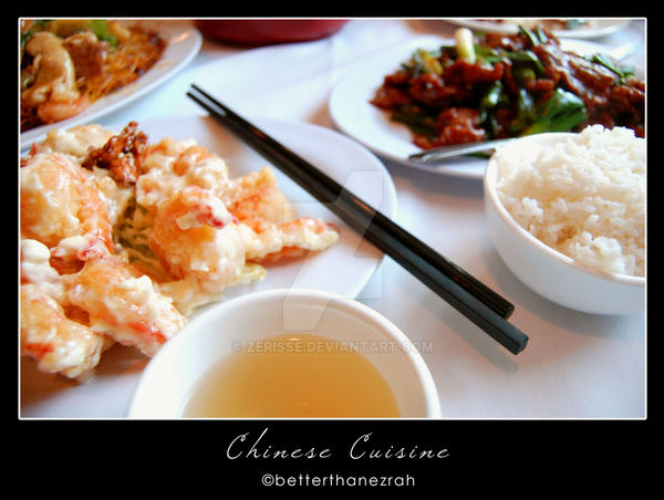 Chinese Cuisine by zerisse