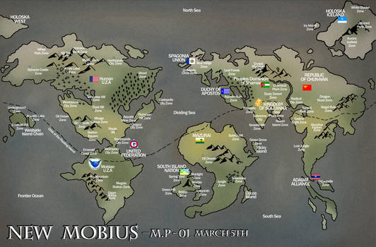 Map of New Mobius