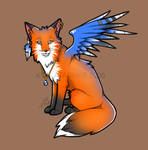 x. Another Fox + Wings