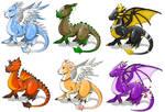 x. Dragons Variations