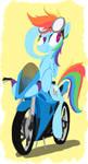 On the move - Rainbow Dash