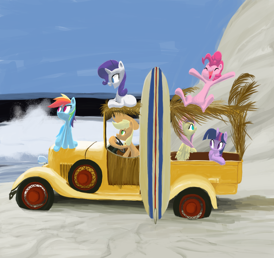 The Beach Mares by AliasForRent