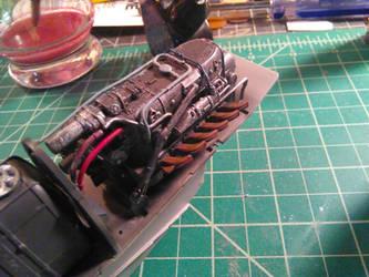 HK models 1/32 Dornier Do 335 build pic 2 by DelosQAndrews