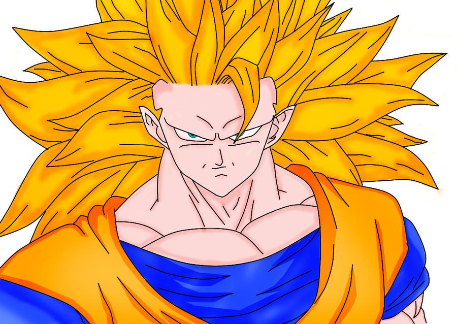 Todas Las Fases De Goku Para Colorear: Ssj3 Goku Color By DPL1 On DeviantArt