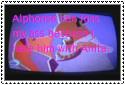 Anti-Anita x Alphonse stamp by VoltaliatheMajestic
