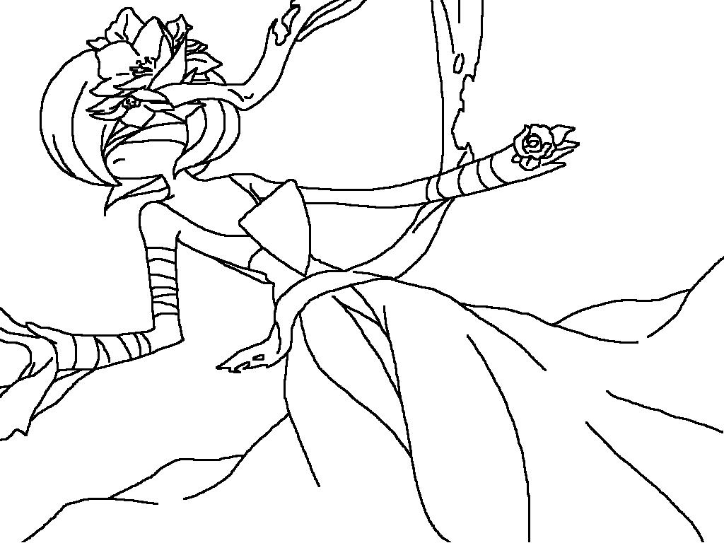 Pokemon coloring pages gardevoir - Gardevoir Base By Voltaliathemajestic