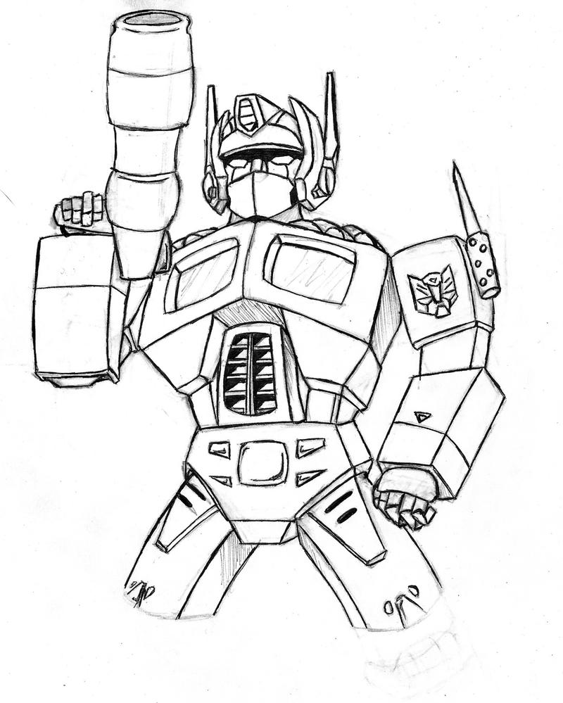 coloring pages optimus prime - photo#35