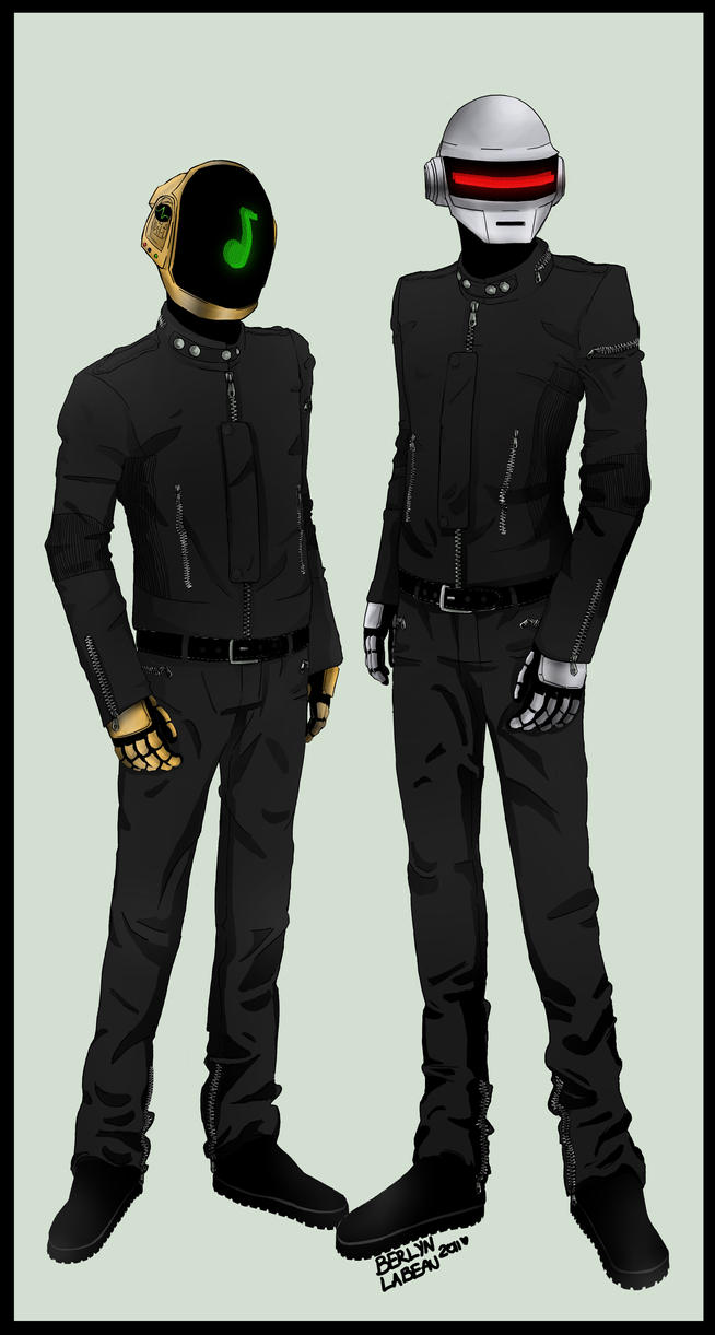 Daft Punk by DeviantDolphinART