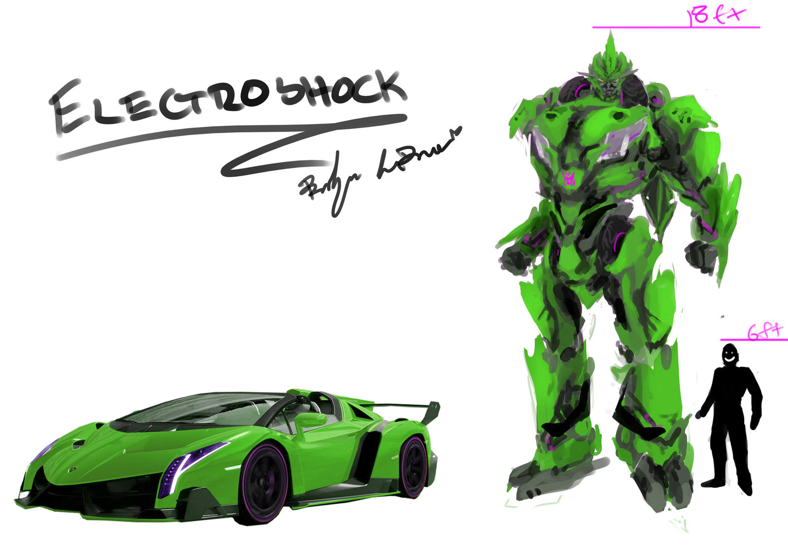 Transformers Oc Electroshock By Deviantdolphinart On