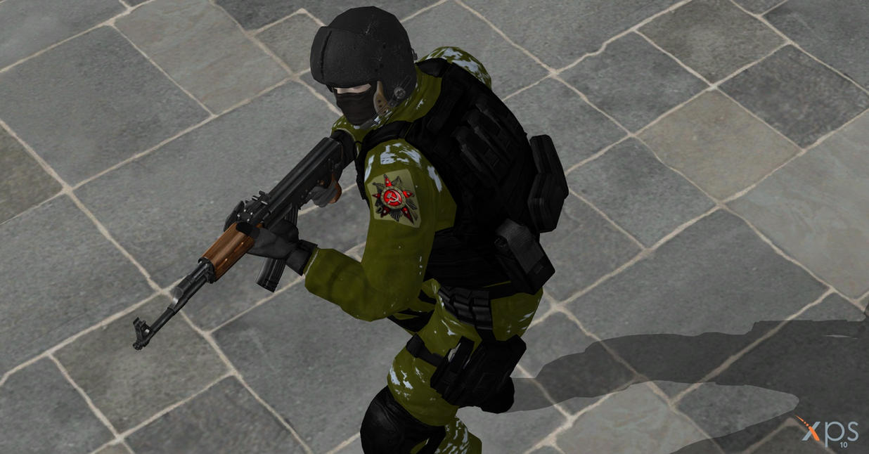 my first reskin of soldier 3 by GGX-444