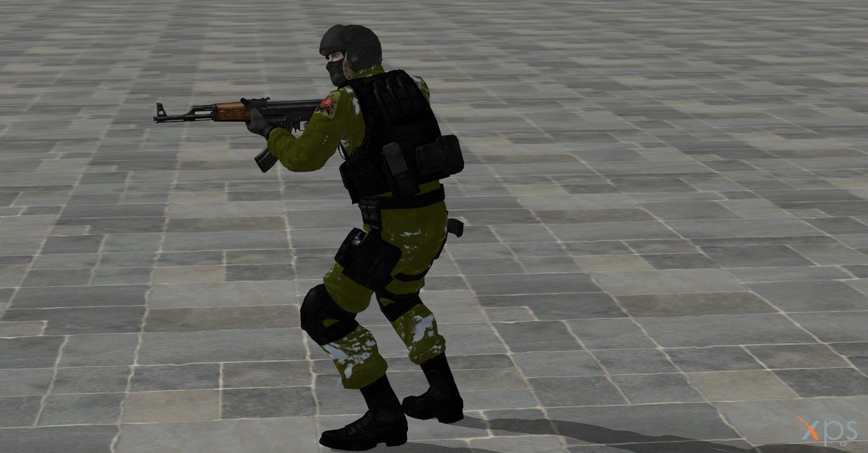 my first reskin of soldier 2 by GGX-444