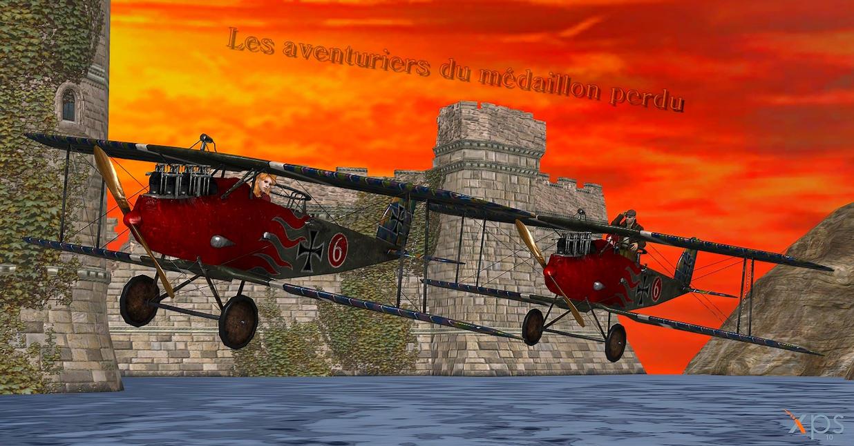 Les Aventuriers Du Medaillon Perdu by GGX-444