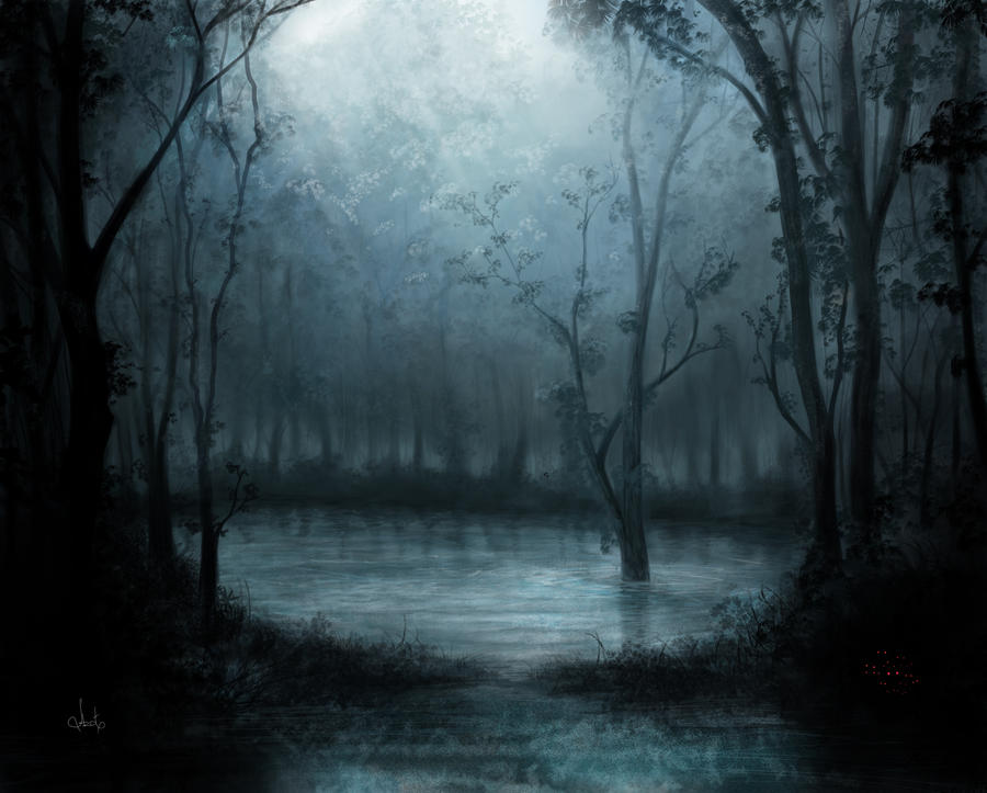 Mystical forest by Azot2015