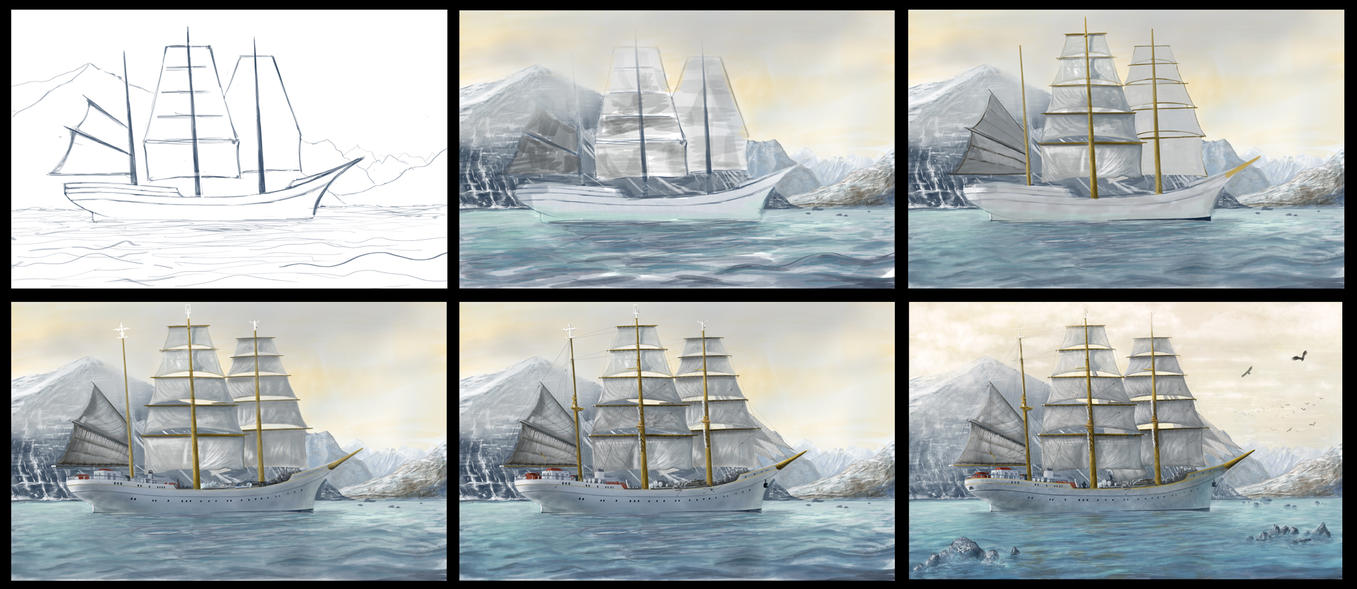 Ship in process by Azot2014
