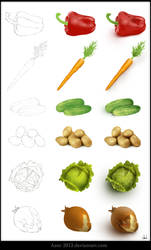 Vegetables by Azot2019