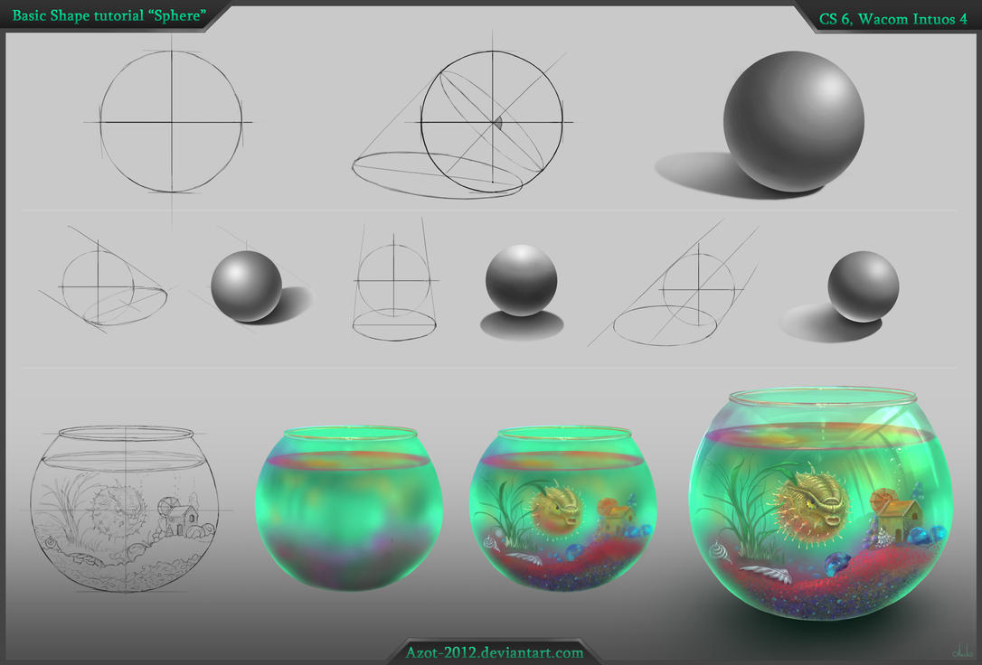 Sphere tutorial by Azot2014
