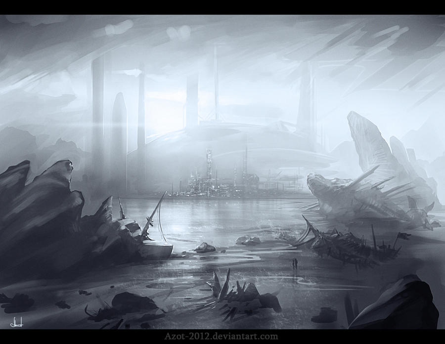 Ship-Wreck sketch by Azot2014