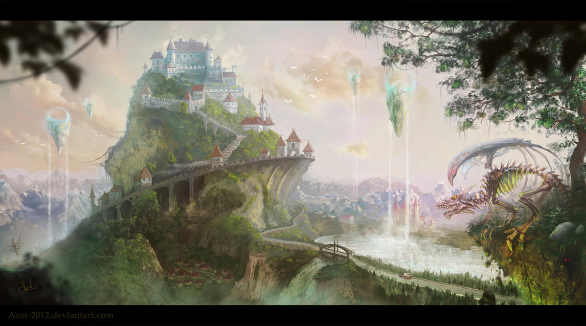 Castle by Azot2014
