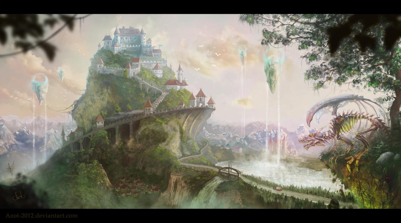 Castle by Azot2017