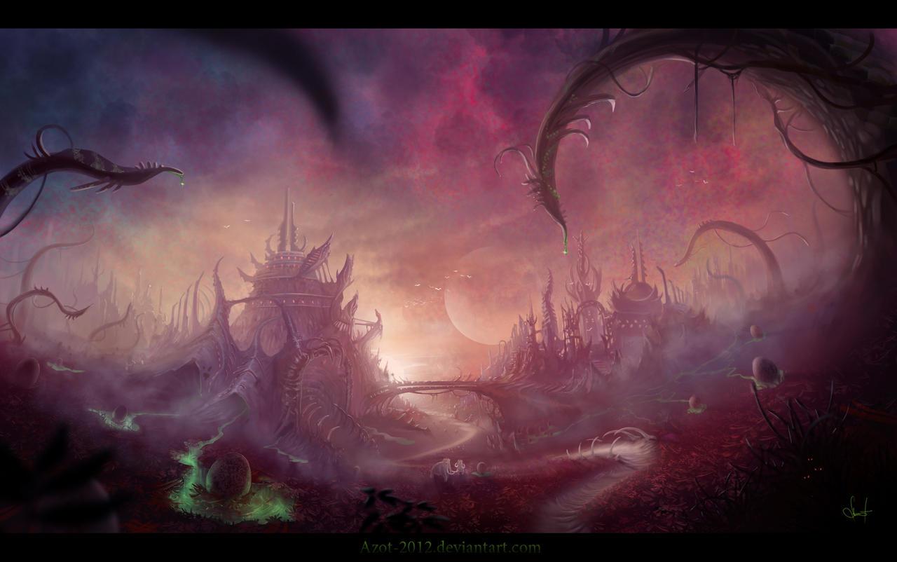 Aliens by Azot2015
