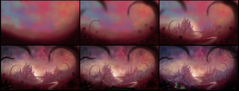 Aliens in process by Azot2016