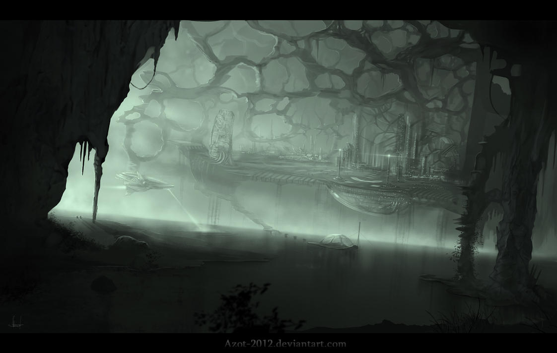 Underground Civilization by Azot2015